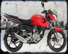 Bajaj Pulsar 135 14 01 A4 metal sign moto Vintage Aged