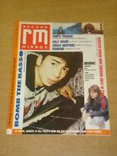 RECORD MIRROR 1988 NOV 5 BOMB THE BASS FISHBONE REM