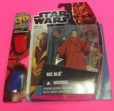 Star Wars discover the force ric olie with 3D glasses