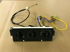 90-93 Ford Mustang AC Heater Control Panel Switch Factory Fan Vent w/ Knobs OEM