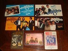 Lot Of 7 Oak Ridge Boys Concert Memorabilia Handbills Postcards,Backstage Passes
