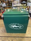Dogfish Head Brewing Green Metal Tote Cooler