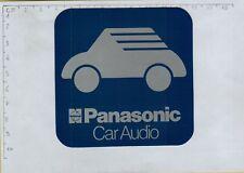 ADESIVO STICKER VINTAGE KLEBER PANASONIC CAR AUDIO