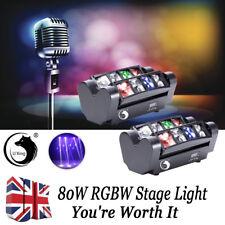 2PCS U`king 80W led RGBW Stage Lighting Spider Moving Head DMX DJ Disco Party