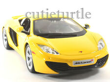Bburago McLaren MP4 12C 1:24 Diecast Model Car 24074 Yellow