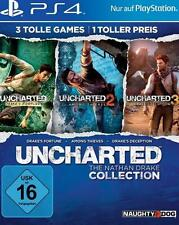 Playstation 4 UNCHARTED 1 + 2 + 3 The Nathan Drake COLLECTION GuterZust.