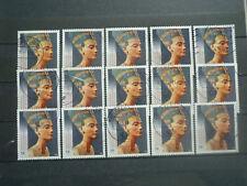 BRD 2013: 50 x Königin Nofretete 58 Ct. gestempelt