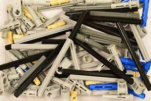 LEGO Technic 100 pieces Bundle Random Mixed Parts Connectors Pins Axles *