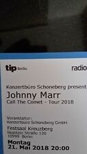 2 Tickets Johnny Marr (The Smiths) am Pfingstmontag, 21. Mai in Berlin