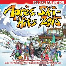 APRES SKI HITS 2015-3CD XXL FAN EDITION 3 CD NEUF