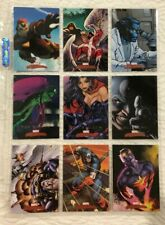 Marvel Masterpieces 2008 Series 2 Trading Cards COMPLETE SET, #1-90 - NM/M!