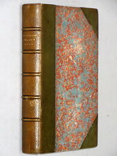 PRINCE OTTO A Romance - Robert Louis Stevenson (1885) 1st Ed Leather binding VG