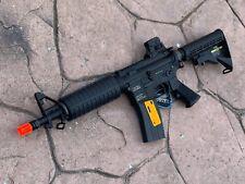 KWA LM4C Gas Blowback Airsoft M4 CQB Full Metal Rifle Bundle