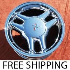"""SET OF 4 CHROME 17"""" FORD MUSTANG GT OEM FACTORY WHEELS RIMS 3089"""