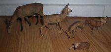 lot of 2 wonderful vintage prewar Lineol ibex animal figure lot