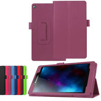 Smart Ultra slim Leather Case Stand Folding Cover For Lenovo Tab2 a7-20F Tablet