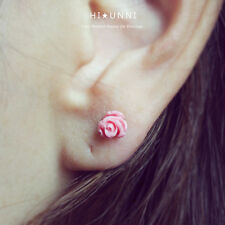 16g Rose cartilage earrings, tragus helix conch ear stud jewelry piercing, 1pc
