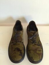 Gianni Barbato Italian Lace Up Pony Hair Oxford Shoes 90s Grunge Women's Size 8