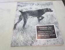 Corcoran Inc. Hunting Camping Fishing Catalog 1955 Vintage 50'S