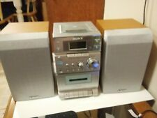 Sony Micro Hi-Fi Component Stereo System CD Cassette AM/FM (CMT-EP303)