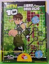 BEN TEN BEN 10 LIBRO + OROLOGIO LISCIANI NUOVO SIGILLATO 9788874302871