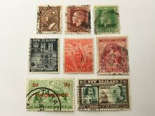old stamps  NEW ZEALAND    x  8