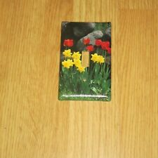 SPRING TULIPS FLOWERS Light Switch Cover Plate