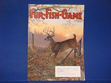 Fur-Fish-Game Magazine October 2006 Hellgrammites Big River Beavers Bobcat M2114