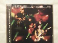 SATRIANI / JOHNSON / VAI - LIVE IN CONCERT  -  CD