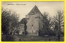 cpa Vue RARE RÉTAUD (Charente Maritime) CHÂTEAU de CHATENET Marquis de Serigny