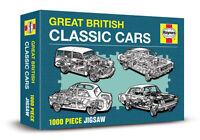 GREAT BRITISH CLASSIC CARS - HAYNES 1000 PIECE JIGSAW ( New & sealed) CORTINA