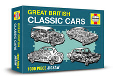 GREAT BRITISH CLASSIC CARS - HAYNES 1000 PIECE JIGSAW ( New & sealed) CORTINA