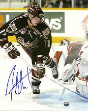 df42e245a Jordan Staal Hand Signed 8x10 Photo Penguins Hurricanes Peterborough Petes