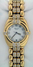 Chopard Gstaad 18k Yellow Gold ALL DIAMOND $52,850.00 Ladies 25mm Watch.
