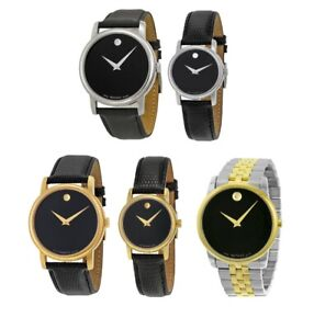 ✅ Movado Museum 2100002 2100004 2100005 2100006 0606899 Mens Womens Watch