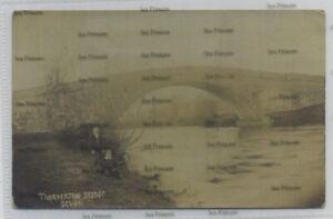 Devon postcard Thorverton bridge used exeter 1906 near Cullompton Tiverton
