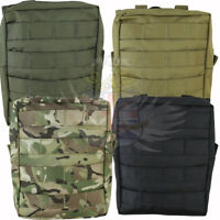 NEW KOMBAT UK TACTICAL LARGE MOLLE UTILITY WEBBING POUCH BLACK,GREEN,COYOTE,BTP