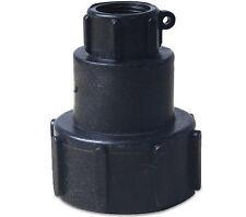 1000L IBC water tank 60mm heavy duty BSP adaptor