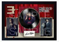 Eminem MTBMB Music to Be Murdered By MUSIC  SIGNED FRAMED PHOTO LP Vinyl