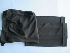 New Larry Levine Stretch Pants Brown  size 6