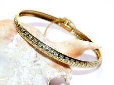 "New 14K Yellow Gold 8"" Italian Omega Bracelet 14.75 Grams 6mm Safety Clasp Italy"