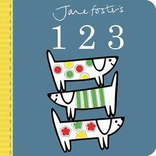 Jane Foster's 123 [Jane Foster Books] Foster, Jane VeryGood