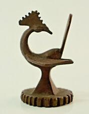 Kleines altes orientalisches Metallgewicht in Tierfigurenform, Höhe 5 cm.  (J41)