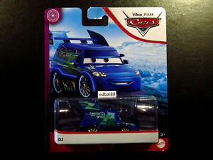 Disney Pixar Cars DJ Mattel Die-cast Blue Car, Tuners Series, New