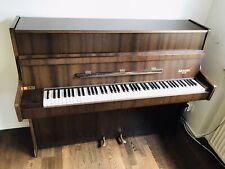 Klavier von Rameau 1970er Jahre -Nussbaum - mit Klavierhocker
