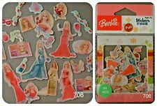 BARBIE pack of 50 pcs stickers pink princess girl party bag craft card fashion