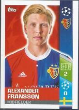 TOPPS CHAMPIONS LEAGUE-2017-18- #392-FC BASEL 1893-ALEXANDER FRANSSON