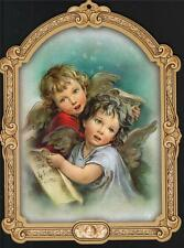 VERY NICE TWO ANGELS PICTURE HOME INTERIOR DECOR