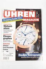 Uhrenmagazin 10/2003 Oktober Lacroix Ventura Bucherer Certina Roamer