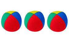 3 X Henrys Jonglierball Bean Bag Superior medium  67 mm Rot Blau Grün Gelb